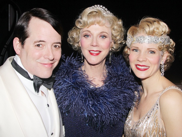Matthew Broderick & Kelli OHara Welcome Blythe Danner to the Cast of Nice Work If You Can Get It