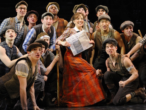 Will Newsies  Hawk Papes at London's Piccadilly Theatre?
