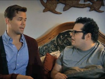 Watch the Best Friend Adventures of Former Mormon Buddies Andrew Rannells & Josh Gad in New Funny or Die Video