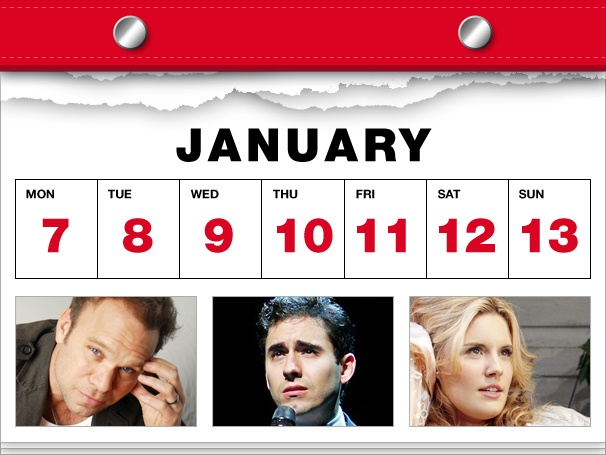 Norbert Leo Butz Lets Loose, John Lloyd Young Heads Back to Jersey & Broadway Has a Picnic in This Week's Datebook