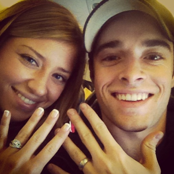 The World Will Know! Newsies Star Corey Cott & New Bride Meghan Woollard Show Off Their Wedding Bling