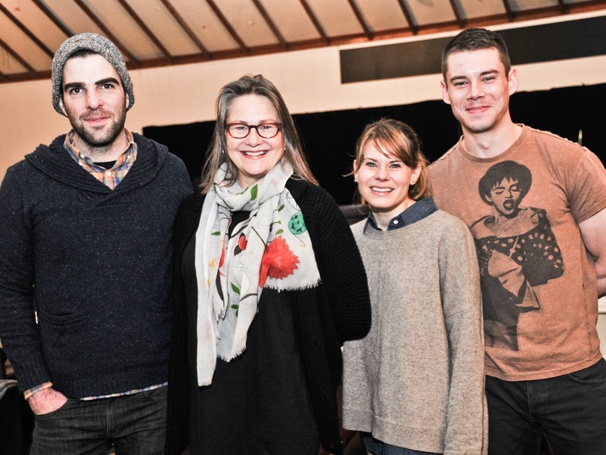 Get a Glimpse of Cherry Jones, Zachary Quinto and Celia Keenan-Bolger in Rehearsal for The Glass Menagerie