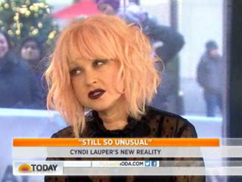 Cyndi Lauper Talks Kinky Boots, Her New Reality Show & the 'Struggle of the Juggle' on Today