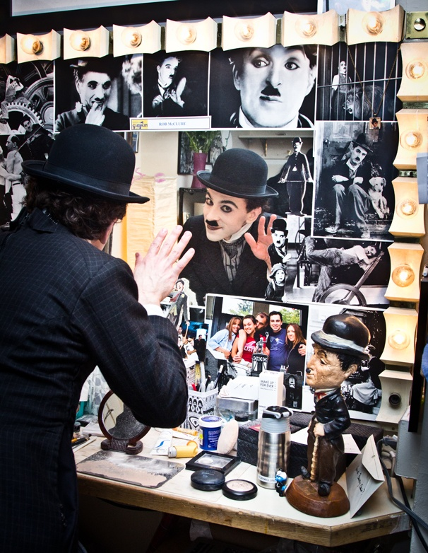 Farewell, Charlie! Rob McClure Dons the Mustache One Final Time on Closing Night of Broadways Chaplin