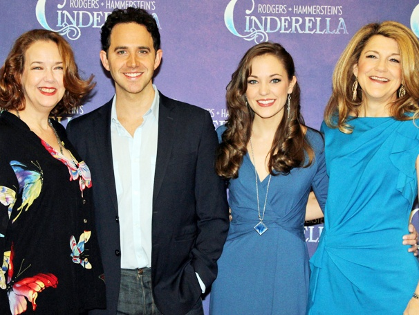 Meet the Team Behind the Magic! Laura Osnes, Santino Fontana and the Cinderella Company Greet the Press