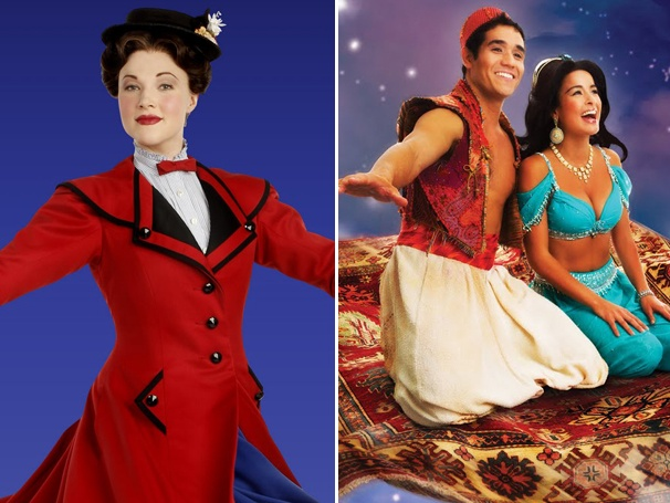 Mary Poppins to Fly Out of New Amsterdam Theatre; Aladdin Headed to Broadway