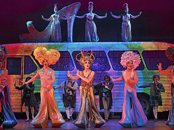 The Bus Hits the Road! Get a First Look at the National Tour of Priscilla Queen of the Desert