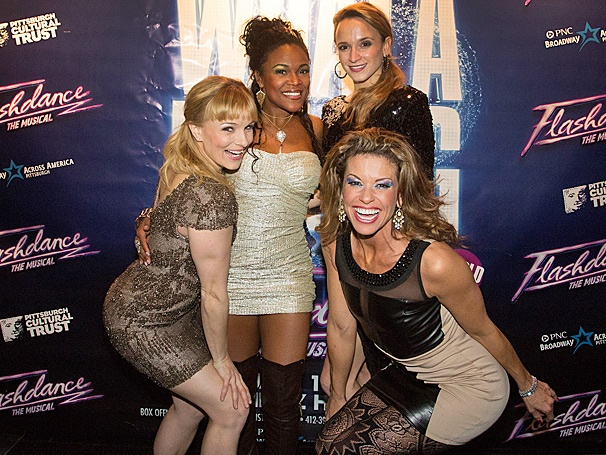 The National Tour of Flashdance Electrifies Pittsburgh on Opening Night