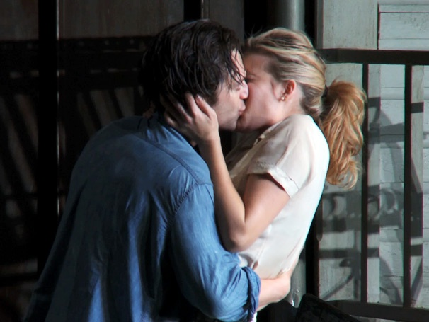 Watch Steamy Show Clips of Maggie Grace, Sebastian Stan & More in a Passionate, Powerful Picnic