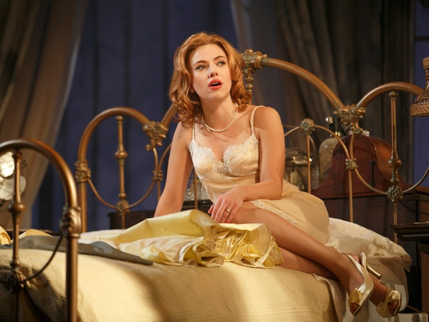 Get a Sultry First Look at Scarlett Johansson & Benjamin Walker in Cat on a Hot Tin Roof