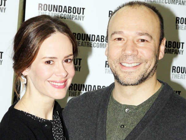 Talley's Folly Stars Danny Burstein and Sarah Paulson Smile Wide and Meet the Press