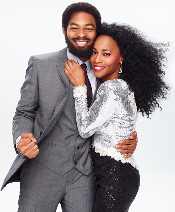 Motown Exclusive! See Brandon Victor Dixon and Valisia LeKae in Costume as Berry Gordy and Diana Ross