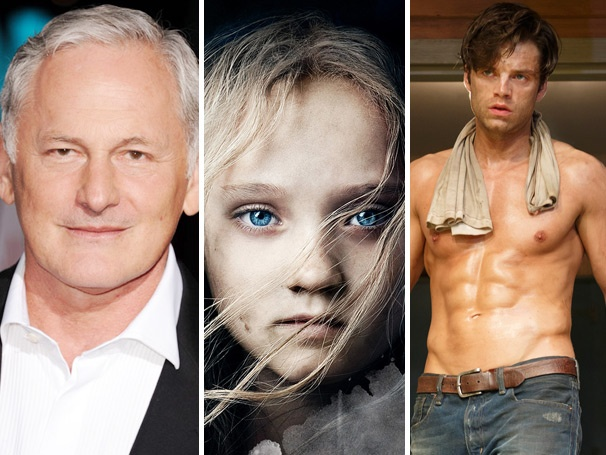 Top 10! A Celebs Coming Out, Les Miz Oscar Buzz & Shirtless Sebastian Stan Spark the Weeks Most-Read Stories