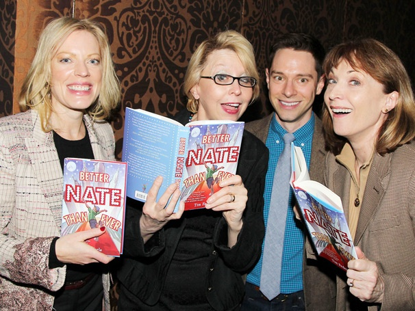 Sherie Rene Scott, Julie Halston & Dee Hoty Launch Tim Federle's Broadway Novel Better Nate Than Ever