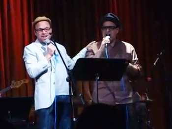 It Was a Ball! Watch Two-Time Tony Winner Norbert Leo Butz Belt a Dirty, Rotten Song with Composer David Yazbek