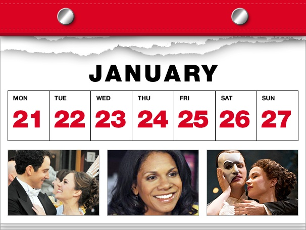 Cinderella Waltzes to Broadway, Audra McDonald's Back in Practice & Phantom Turns 25 in This Week's Datebook