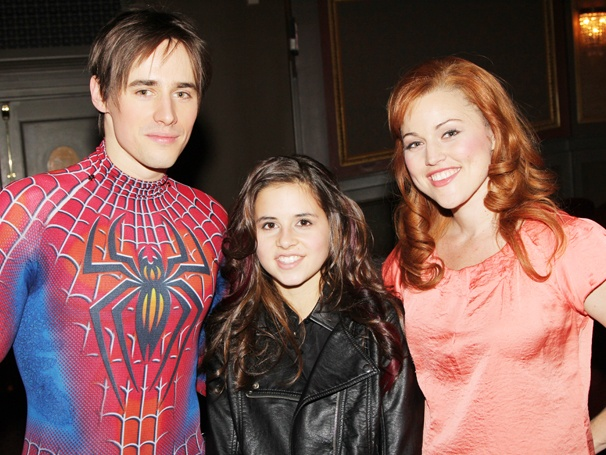 The X Factor's Carly Rose Sonenclar Hangs Around Backstage at Spider-Man, Turn Off the Dark