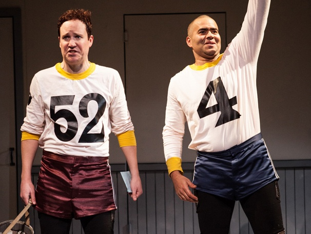 Roller Derby Comedy The Jammer, Starring Patch Darragh, Opens Off-Broadway