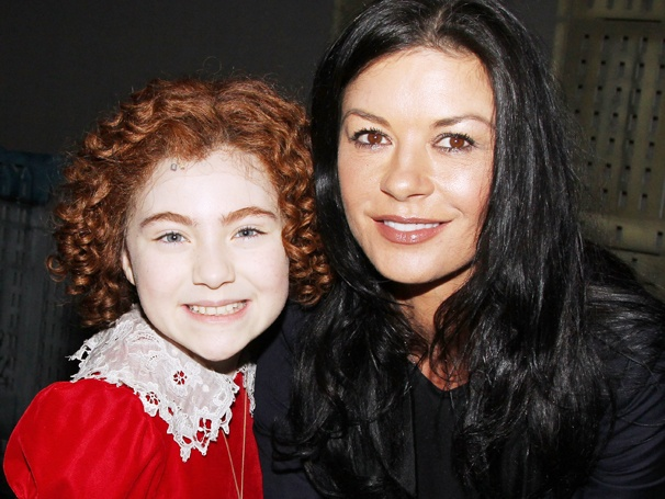 Catherine Zeta-Jones Introduces Her Children to the Beloved Broadway Musical Annie