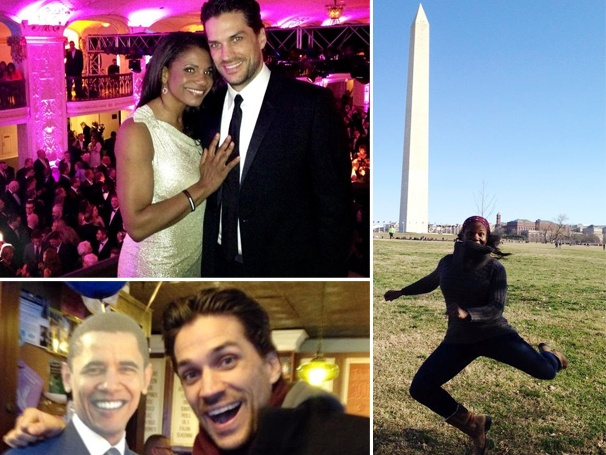 Audra McDonald & Will Swenson Celebrate President Obamas Inauguration at HRC's Out for Equality Ball