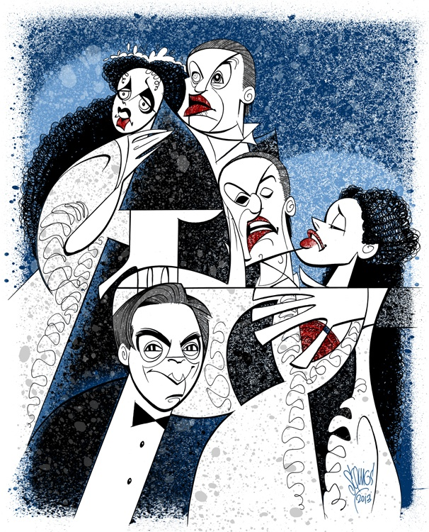 Broadway Buzz: Crawford, Brightman, Panaro & Boggess! Squigs Pens a Masked Mashup for Phantom's 25th Birthday