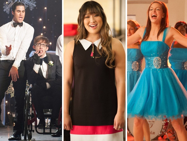 Girl Power! Were We Taken with Glees Female Empowering Sadie Hawkins?