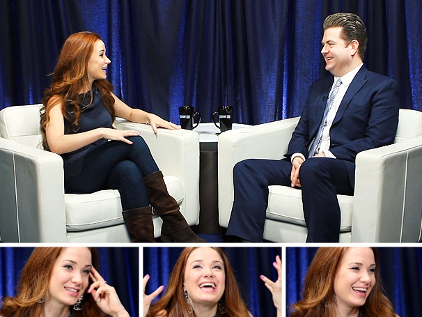 Phantom Star Sierra Boggess on Spazzing Over Michael Crawford, Sneaking Yentl On Stage & Honoring History