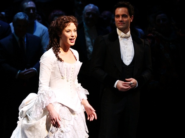 Watch Sierra Boggess Sing Surprise Quintet With Hugh Panaro, Ramin Karimloo & More at Phantom's 25th Anniversary Performance