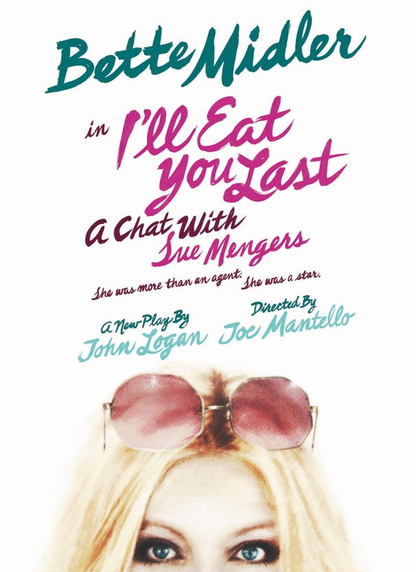 I'll Eat You Last: A Chat with Sue Mengers, Starring Bette Midler, Will Play the Booth Theatre