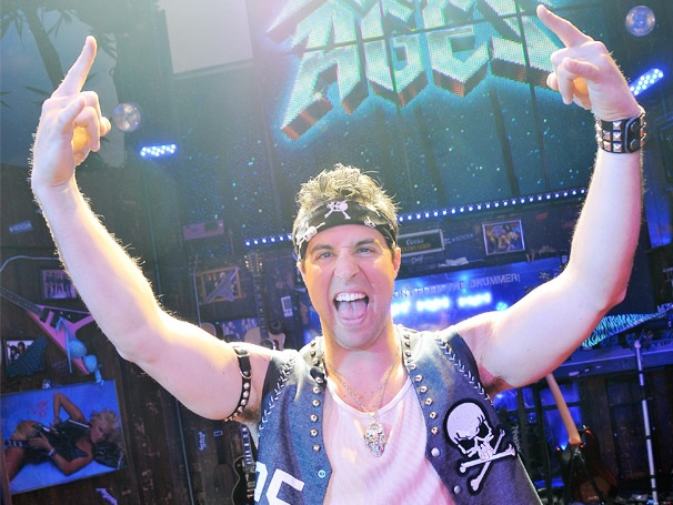 Yankees First Baseman Mark Teixeira Has 'Nothin' But a Good Time' in One-Night-Only Rock of Ages Cameo