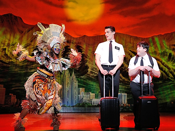 Hasa Diga! First Look at Mark Evans and Christopher John O'Neill in the National Tour of The Book of Mormon