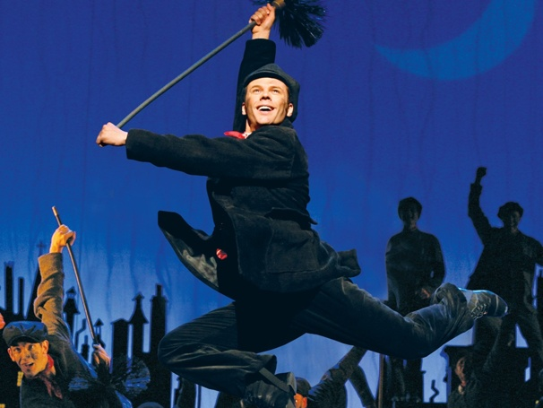 Whats Up, Nicolas Dromard? Mary Poppins Final Bert on Kissing Wicked Witches and Dancing on the Ceiling