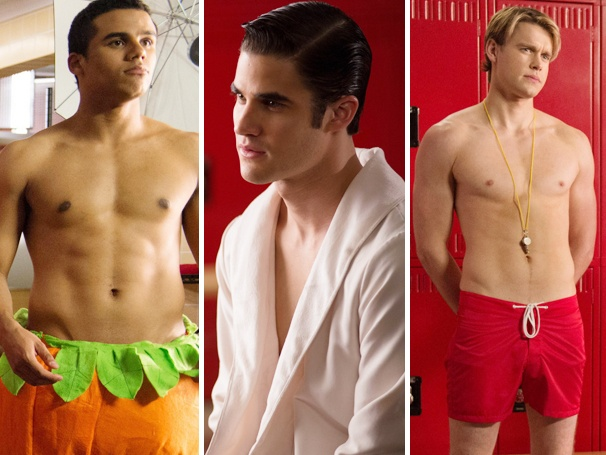 Darren Criss and the Glee Guys Strip Down for the 'Naked' Episode; Hot or Not?