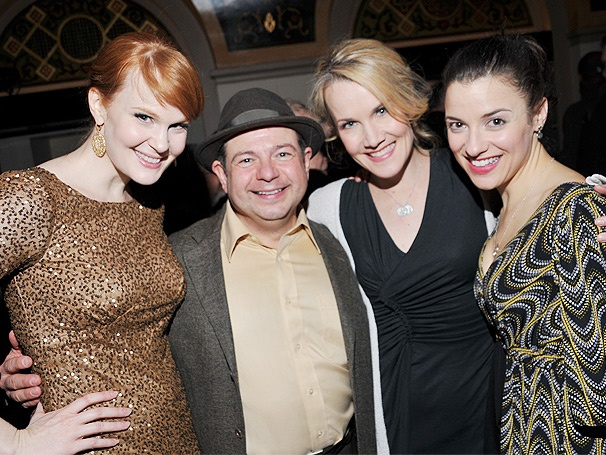 Politics and Pals! Go Inside the Closing Night Party of Fiorello!