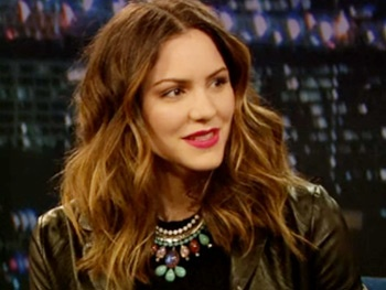 Katharine McPhee Talks Smash and Her Super Bowl Experience on Jimmy Fallon