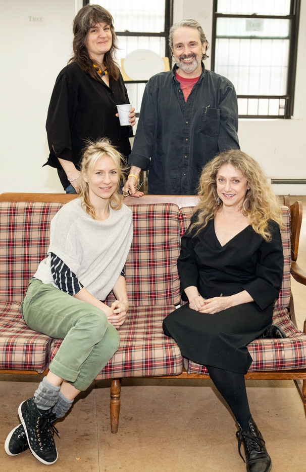 Bette Davis Eyes! Check out the Cast of Craig Lucas' The Lying Lesson in Rehearsal