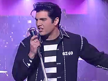 Watch Million Dollar Quartet Star Cody Slaughter Rock The Late Show as Elvis Presley