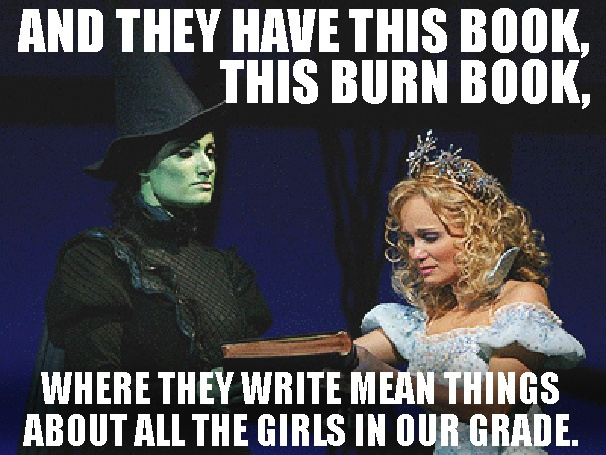 No One Mourns the Plastics! 11 Fetch Photo Mashups of Wicked and Mean Girls