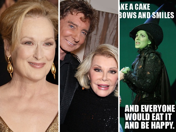 Top 10! Most-Read Stories Include Streep Casting Scoop, Barry and Joan's Broadway Reunion & a Wickedly Mean Photo Mashup