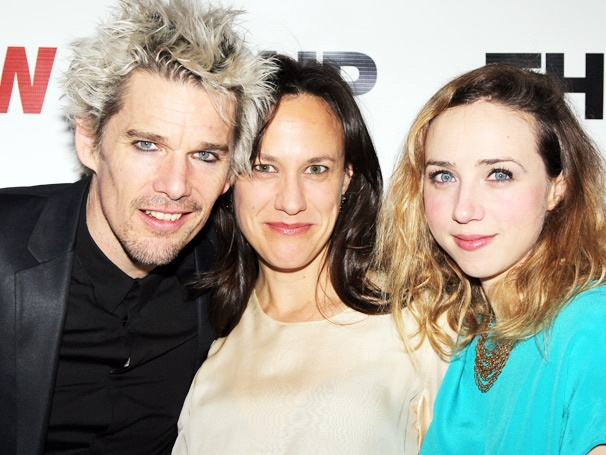 Ethan Hawke, Zoe Kazan & the Cast of Clive Party Like Rock Stars on Opening Night