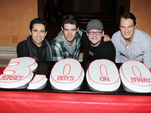 Big Man In Town! Jersey Boys Toasts 3,000 Broadway Performances