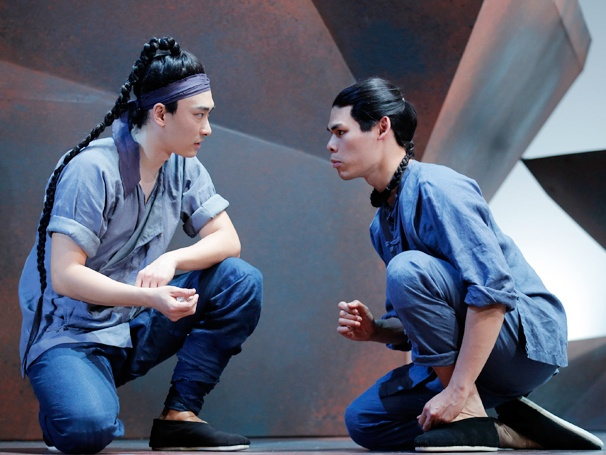 All Aboard! Get a First Look of David Henry Hwang's Two-Hander The Dance and the Railroad