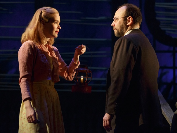 Go Down to the Docks with Danny Burstein and Sarah Paulson in Talley's Folly