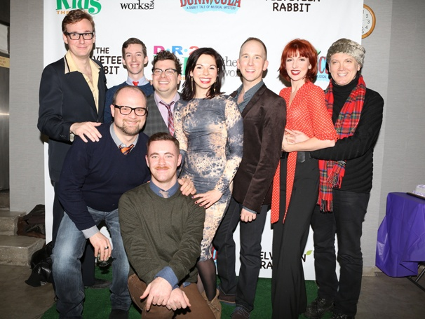 Bunnicula Lives! Charles Busch & the Cast of Off-Broadway's Rabbit Musical Hop To It on Opening Night