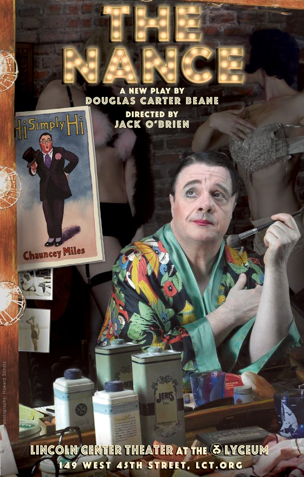 Burlesque Drama The Nance, Starring Nathan Lane, Begins Performances on Broadway