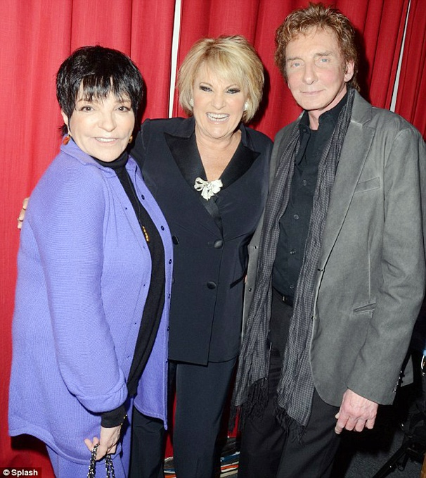 Liza! And Lorna! And Barry! Oh My! Liza Minnelli & Barry Manilow Take in Lorna Luft's New Cabaret Show
