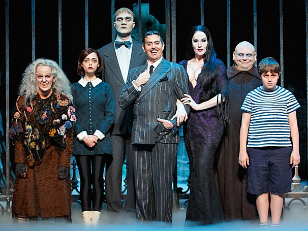 Family Portrait Time! Get a First Look at the New Cast of The Addams Family on Tour