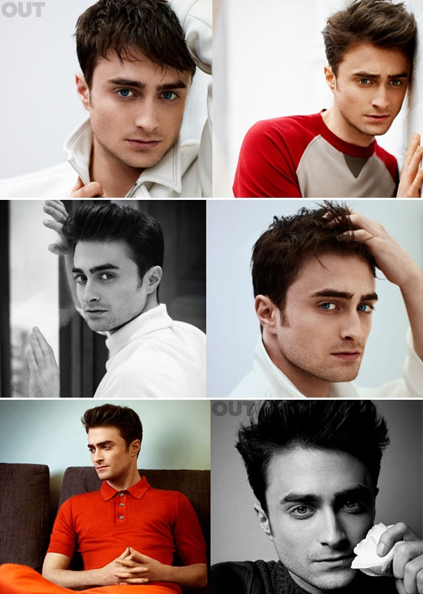 Daniel Radcliffe Poses for Sultry Photos in Out Magazine