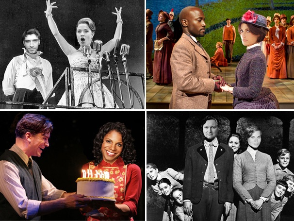 V-Day Special! From Jeremy & Ashley to Idina & Taye, 15 Broadway Couples We'd Like to See Pair Up on Stage