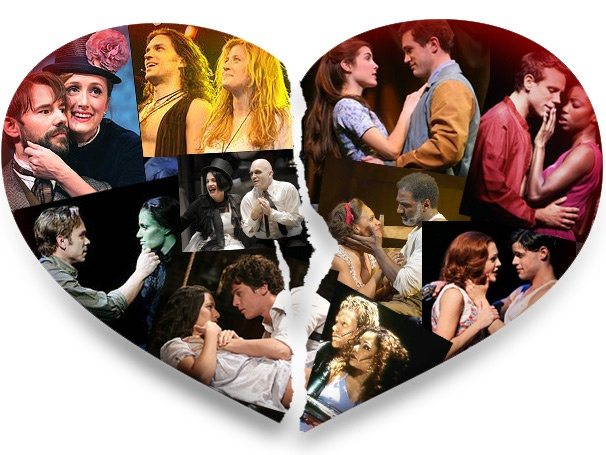 Love Sucks! 10 Tragically Doomed Romances from Broadway Musicals